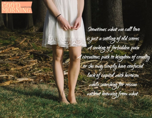 Confusing Meaning of Love Quotation