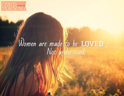 Confused love for women quote