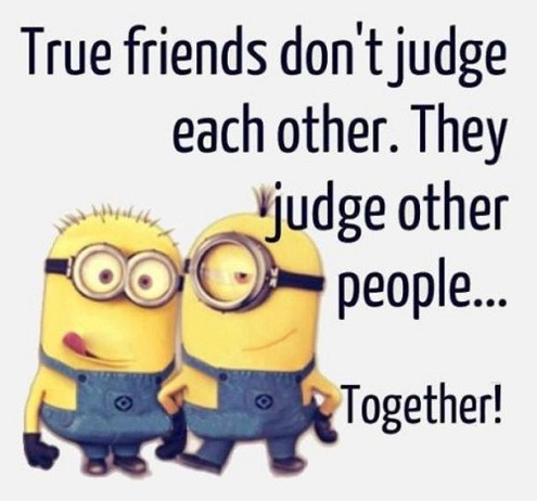 true friends funny short quotation