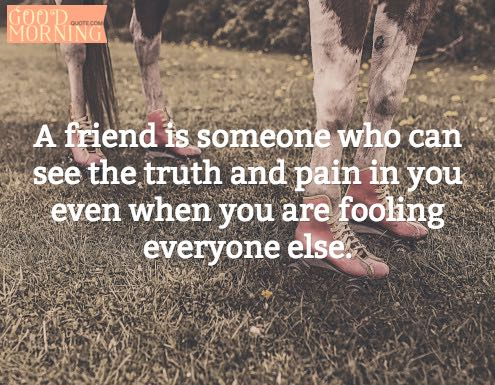 52 Best Friends Quotes Of All Time. 1. U201cA Friend Is Someone Who Can See The  Truthu2026u201d