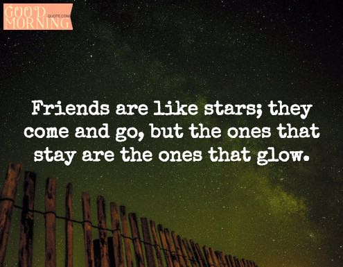 Best Friends Quotes Stars