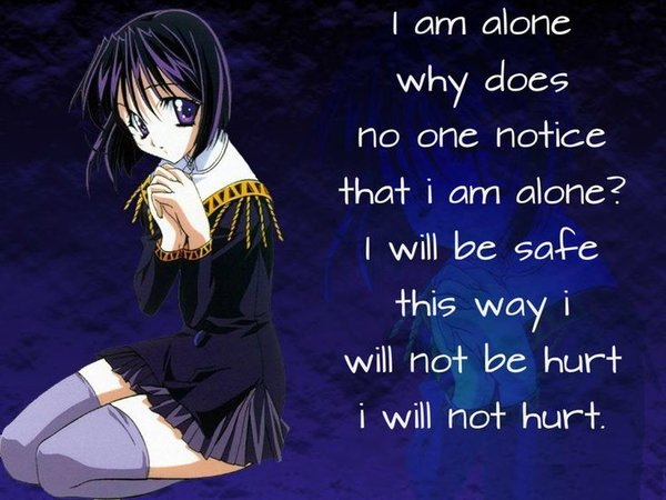 depression quotes about being alone