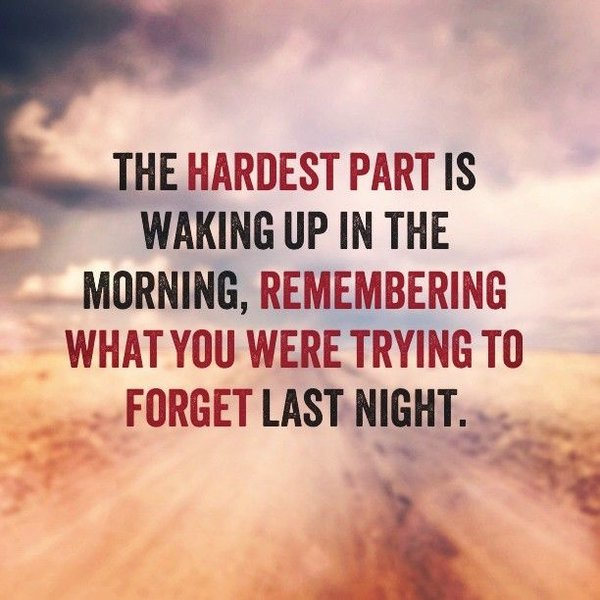 depression quotes about forgetting