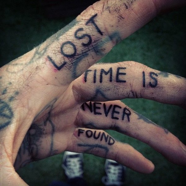 depression quotes for lost time