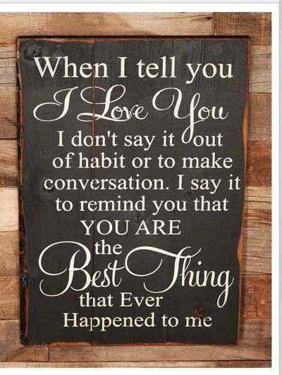 When I Tell You I Love You Famous Wedding Quotes
