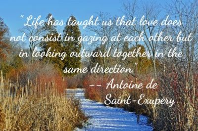 Famous Wedding Quotes Inspired by Antoine Exupery