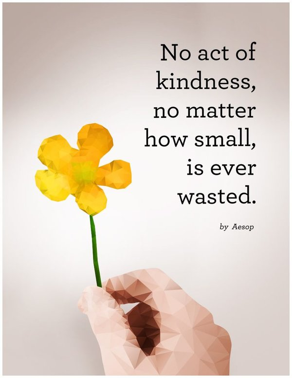 quotes about change and act of kindness