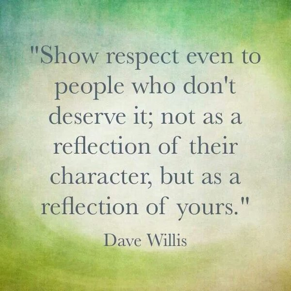 quotes about change and respect
