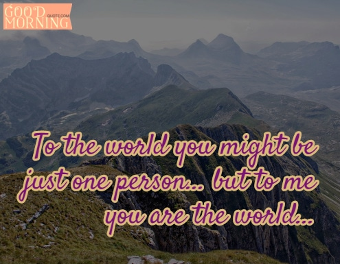 world sweet quote