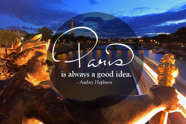 Paris travel quotes