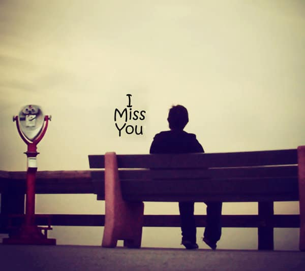 love words missing someone
