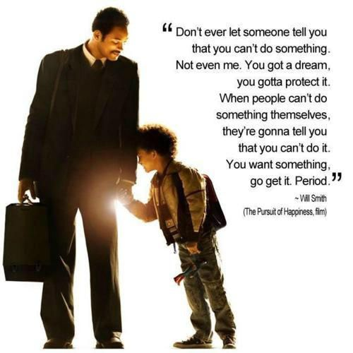 pursuit of happiness motivational speeches