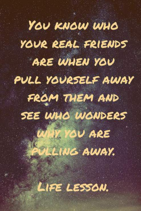 quotes about real friends being there for you