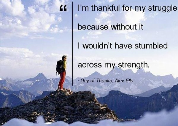 thank you quotes about struggle