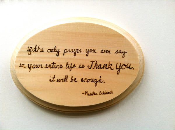 thank you quotes prayer