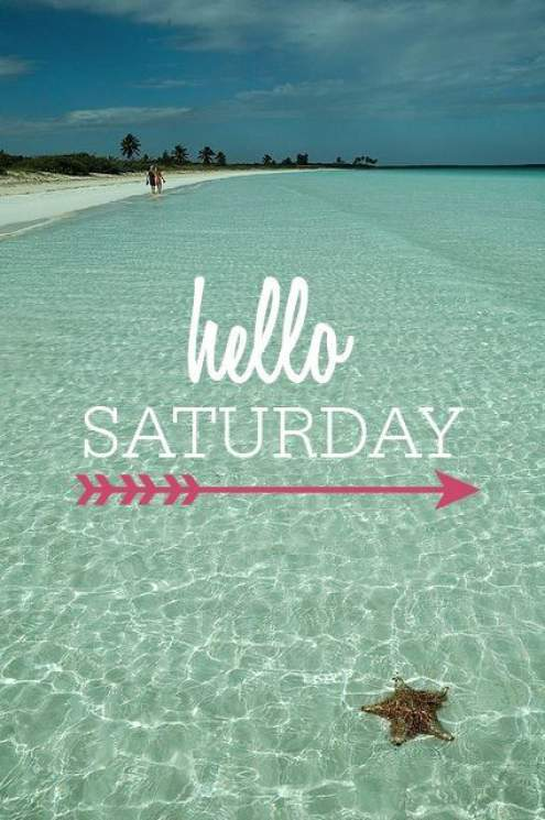 Good Morning Quotes Beach : Happy and funny saturday quotes with images
