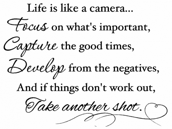 Life Camera Wednesday Quotes