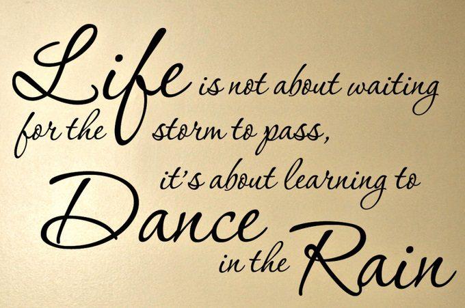 Life Rain Tuesday Quotes