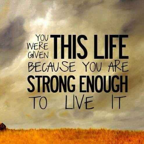 52 short and inspirational quotes about strength with images