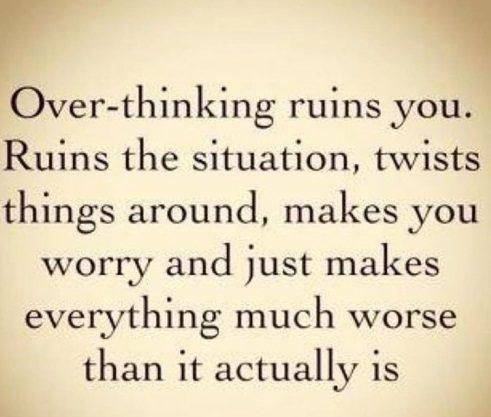 Overthinking Wednesday Quotes