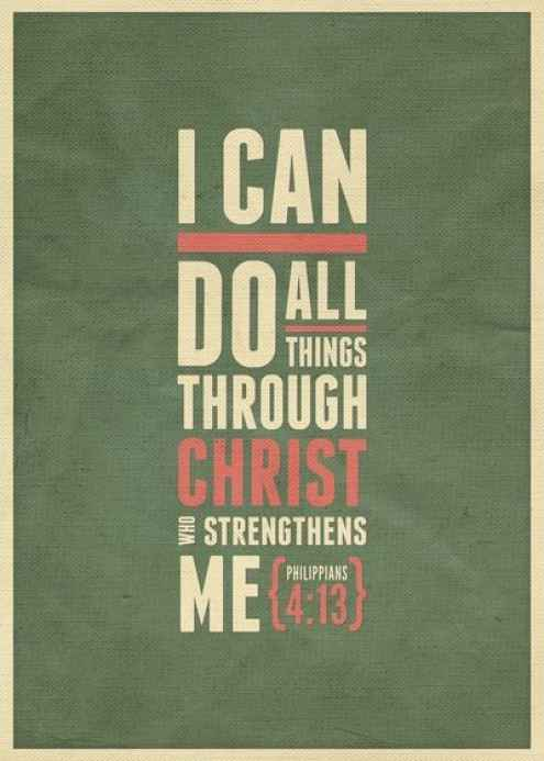Christ Strengthens Me Scriptures About Strength Originally Posted By Skinnymom