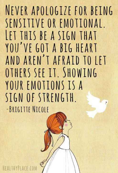 Quotes About Love And Strength Tumblr : ... to let others see it. Showing your emotions is a sign of strength