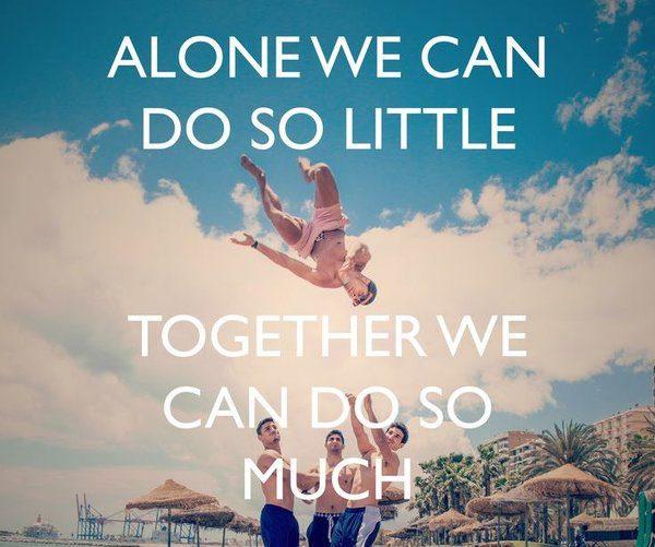 teamwork sayings
