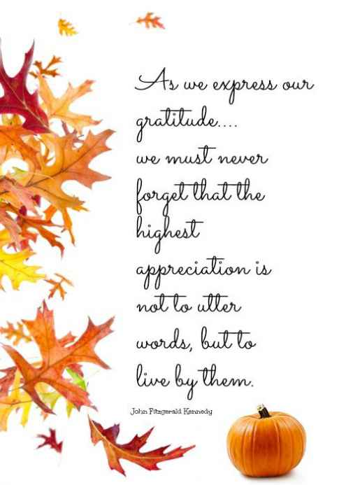 thanksgiving friendship quotes