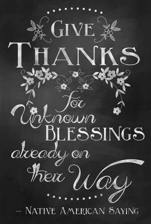 thanksgiving quotes children