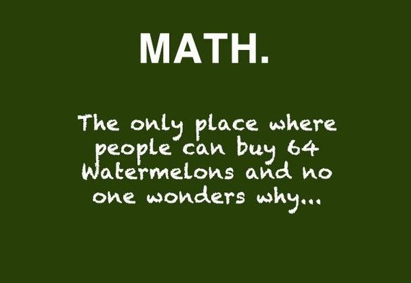 funny math quotes