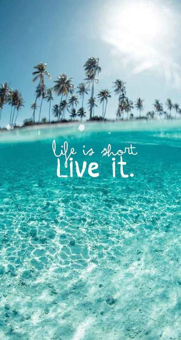 21 Short Live Life Quotes with Images