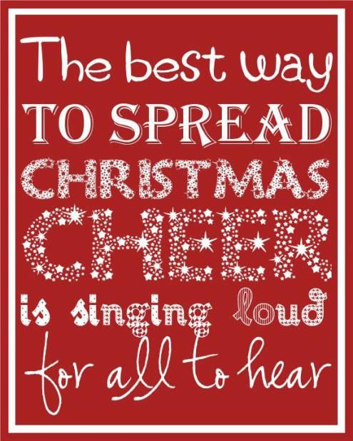 inspirational christmas sayings quotes images