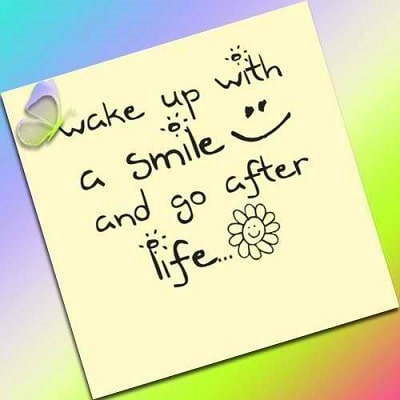 Image result for wake up smiling