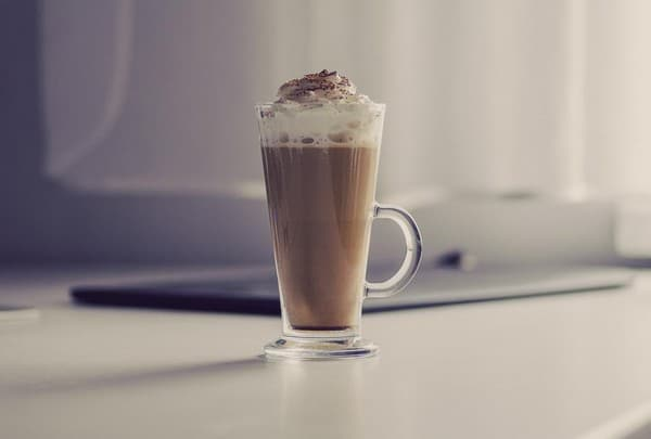 coffee whipped cream good morning images