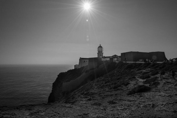 good morning sunlight lighthouse