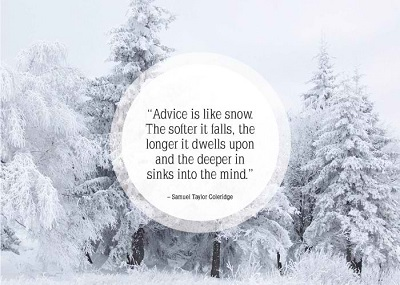 Inspiring Quote About Winter