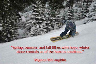 Short Winter Quote
