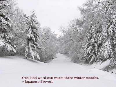 Short Winter Quotes
