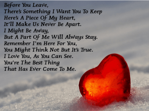 Sweet Love Poems for Him