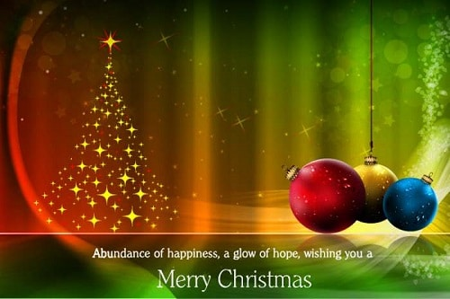 Cute Beautiful Merry Christmas Images