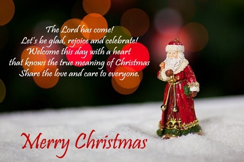 Cute Beautiful Merry Christmas Pictures