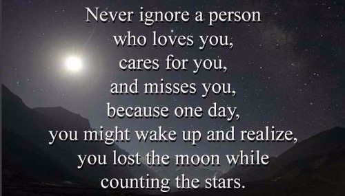 Real Love Funny Quotes : in an extraordinary way 12 never ignore a person who loves you cares ...
