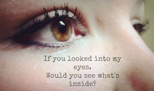 Inspirational Quotes on Eyes