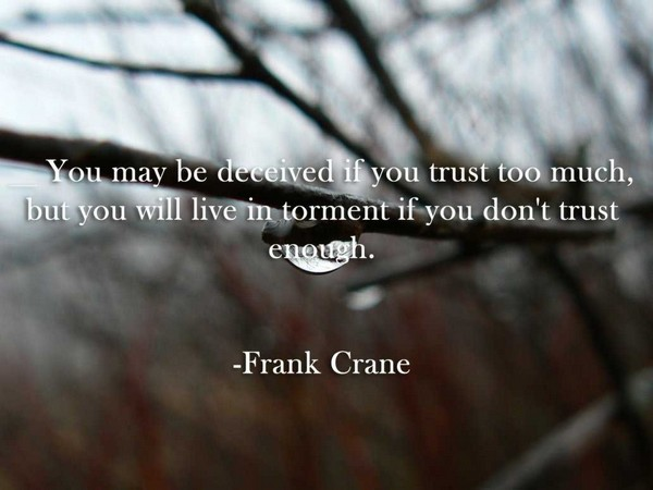 Quotes About Trusting Yourself