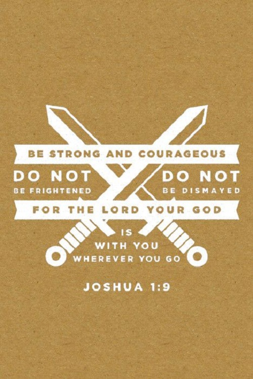 Be Strong Bible Quotes