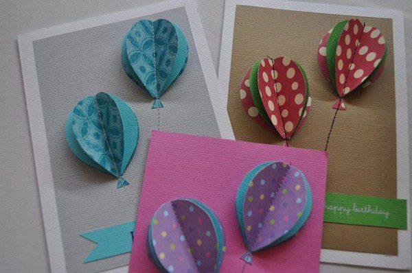 Beautiful Birthday Homemade Card Ideas