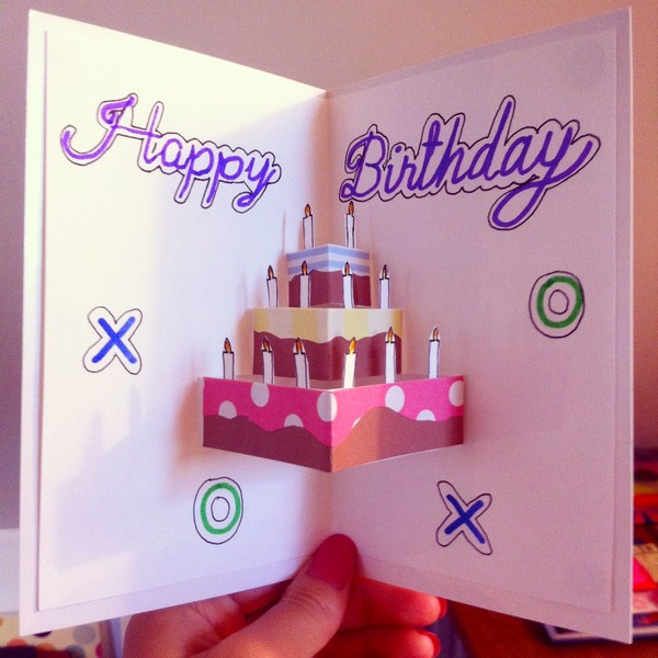37 Homemade Birthday Card Ideas and Images Good Morning Quote – Handmade Happy Birthday Cards