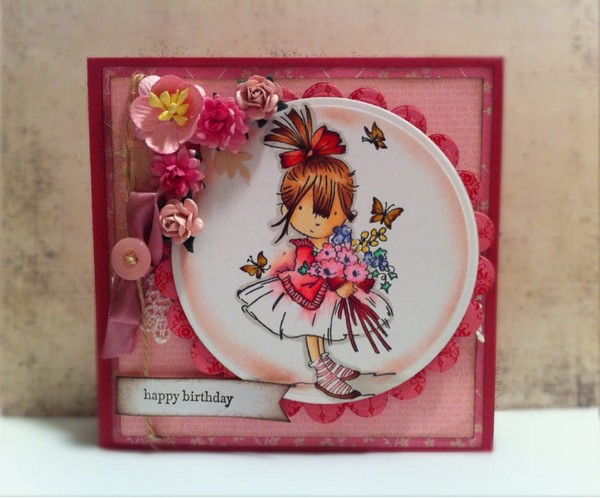 37 Homemade Birthday Card Ideas and Images Good Morning Quote – Birthday Cards Girls