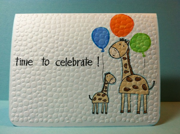 ... can teach their kids how to make creative homemade birthday cards