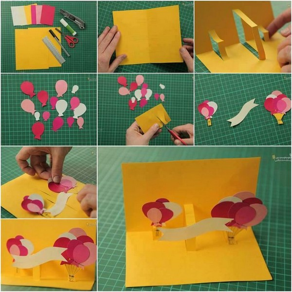 37 Homemade Birthday Card Ideas and Images Good Morning Quote – Easy Handmade Birthday Card Ideas